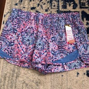 Lilly Pulitzer Luxletic Shorts NWT